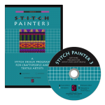 Stitch Painter 3 -grid-based software-Macintosh and Windows- knitwear, knitting, crochet, stitching and beading