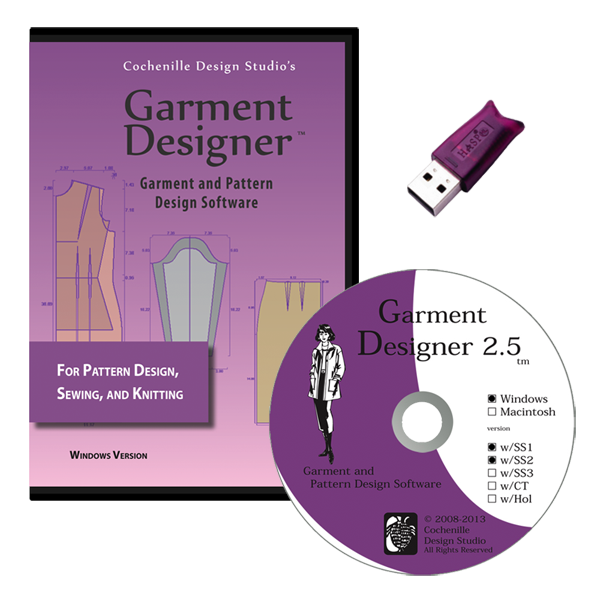 Garment Designer Knit & Sewing Patterning Software | Cochenille ...