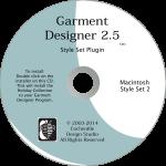 Garment Designer Mac version, Style Sets 2, pattern making software & knit design software