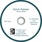 Stitch Painter Training Aids-Stitch Painter Lesson Book