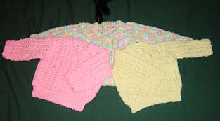 Baby Sweaters - Hand Knit