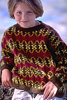 Riga Child - Hand knit, Jo Sharp yarns