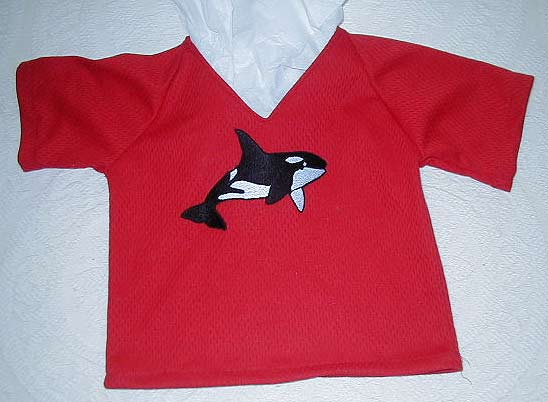 "Jody Urbani ""Whale Shirt for Grandson"" Sewn Garment"