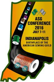 American Sewing Guild Conference-Cochenille Design Studio