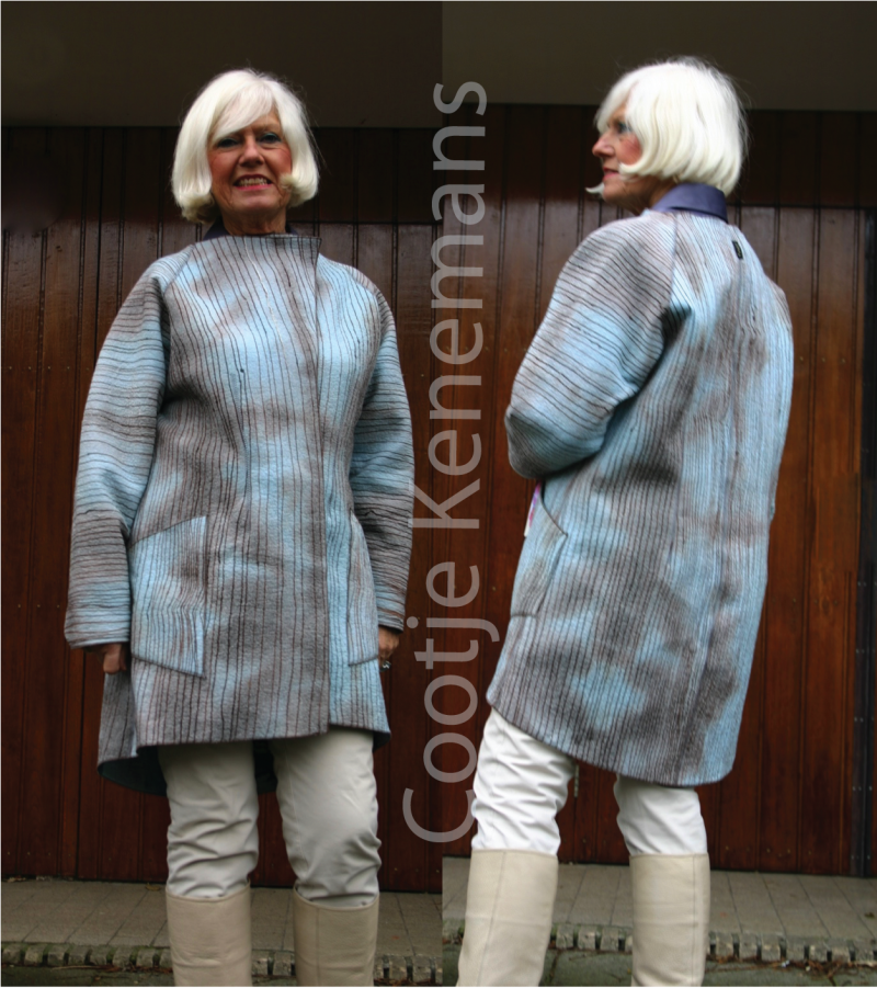 Cootje Kenemans Stripe Jacket
