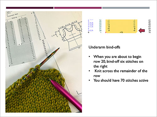 Knit Shaping with Garment Designer